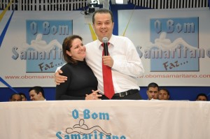 Pr. Moisés Martins e a esposa Michelle